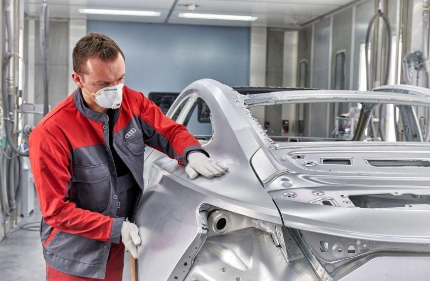 2021 Audi e-tron GT quattro, RS e-tron GT debut – two motors, up to 646 PS, 0-100 in 3.3 secs; 487 km range Image #1246713