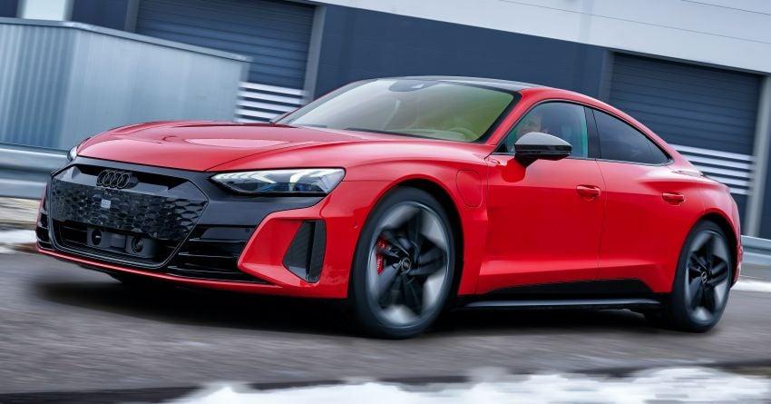 2021 Audi e-tron GT quattro, RS e-tron GT debut – two motors, up to 646 PS, 0-100 in 3.3 secs; 487 km range Image #1246665