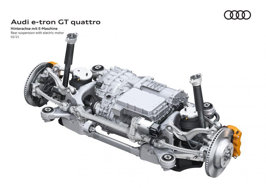 2021 Audi e-tron GT quattro, RS e-tron GT debut – two motors, up to 646 PS, 0-100 in 3.3 secs; 487 km range Image #1246599