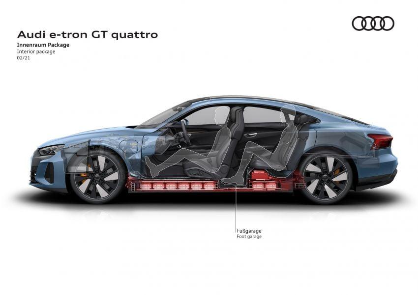 2021 Audi e-tron GT quattro, RS e-tron GT debut – two motors, up to 646 PS, 0-100 in 3.3 secs; 487 km range Image #1246622