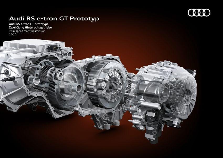 2021 Audi e-tron GT quattro, RS e-tron GT debut – two motors, up to 646 PS, 0-100 in 3.3 secs; 487 km range Image #1246655