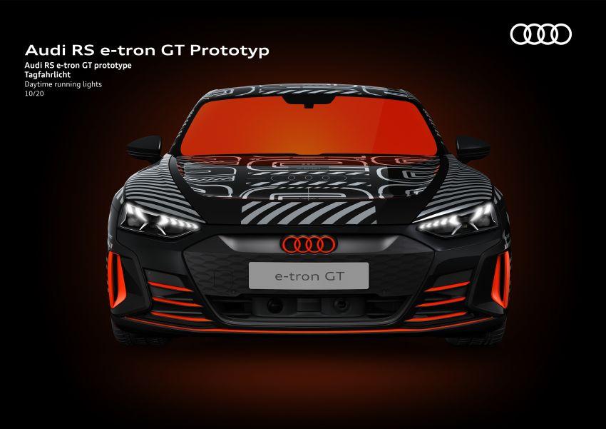 2021 Audi e-tron GT quattro, RS e-tron GT debut – two motors, up to 646 PS, 0-100 in 3.3 secs; 487 km range Image #1246658