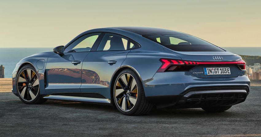 2021 Audi e-tron GT quattro, RS e-tron GT debut – two motors, up to 646 PS, 0-100 in 3.3 secs; 487 km range Image #1246409