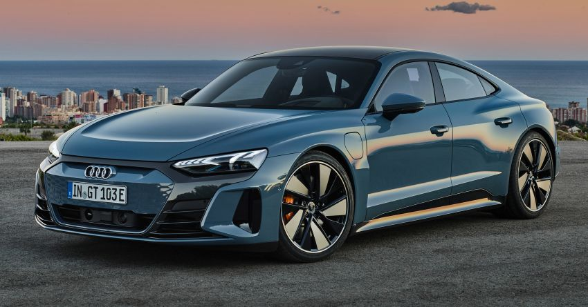 2021 Audi e-tron GT quattro, RS e-tron GT debut – two motors, up to 646 PS, 0-100 in 3.3 secs; 487 km range Image #1246410