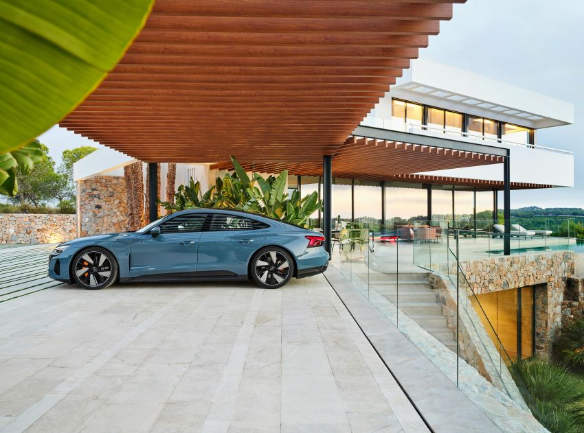 2021 Audi e-tron GT quattro, RS e-tron GT debut – two motors, up to 646 PS, 0-100 in 3.3 secs; 487 km range Image #1246413