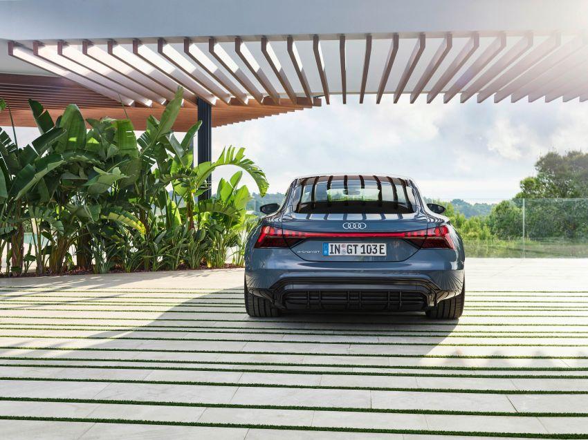 2021 Audi e-tron GT quattro, RS e-tron GT debut – two motors, up to 646 PS, 0-100 in 3.3 secs; 487 km range Image #1246416