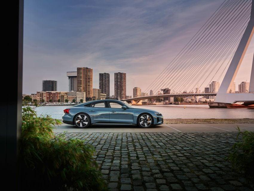 2021 Audi e-tron GT quattro, RS e-tron GT debut – two motors, up to 646 PS, 0-100 in 3.3 secs; 487 km range Image #1246404