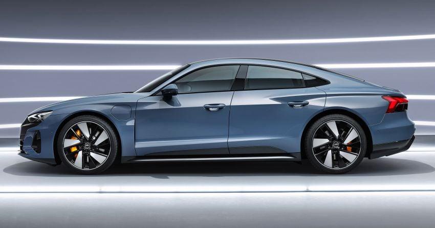 2021 Audi e-tron GT quattro, RS e-tron GT debut – two motors, up to 646 PS, 0-100 in 3.3 secs; 487 km range Image #1246421