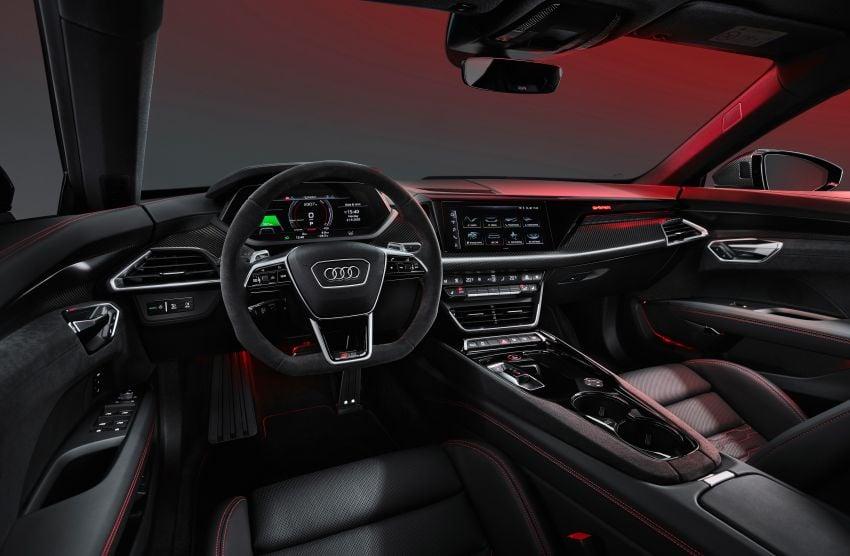 2021 Audi e-tron GT quattro, RS e-tron GT debut – two motors, up to 646 PS, 0-100 in 3.3 secs; 487 km range Image #1246397