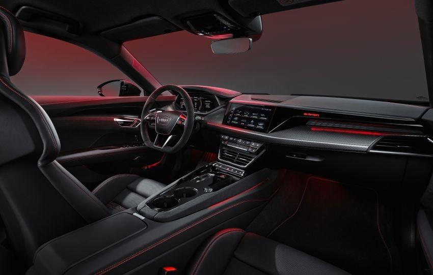 2021 Audi e-tron GT quattro, RS e-tron GT debut – two motors, up to 646 PS, 0-100 in 3.3 secs; 487 km range Image #1246398