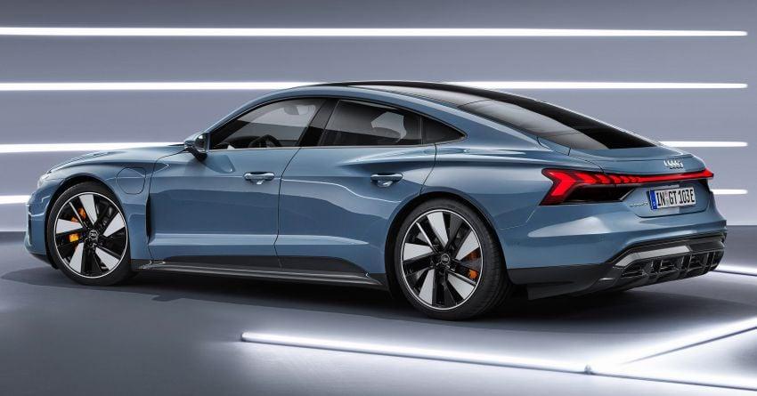 2021 Audi e-tron GT quattro, RS e-tron GT debut – two motors, up to 646 PS, 0-100 in 3.3 secs; 487 km range Image #1246423