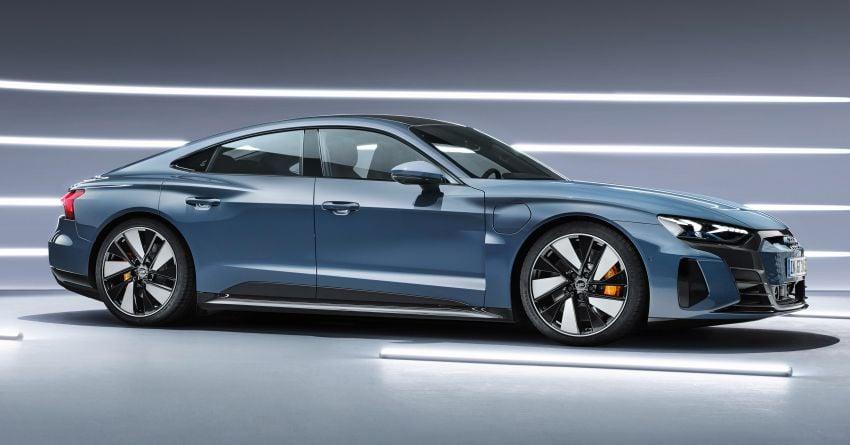 2021 Audi e-tron GT quattro, RS e-tron GT debut – two motors, up to 646 PS, 0-100 in 3.3 secs; 487 km range Image #1246424