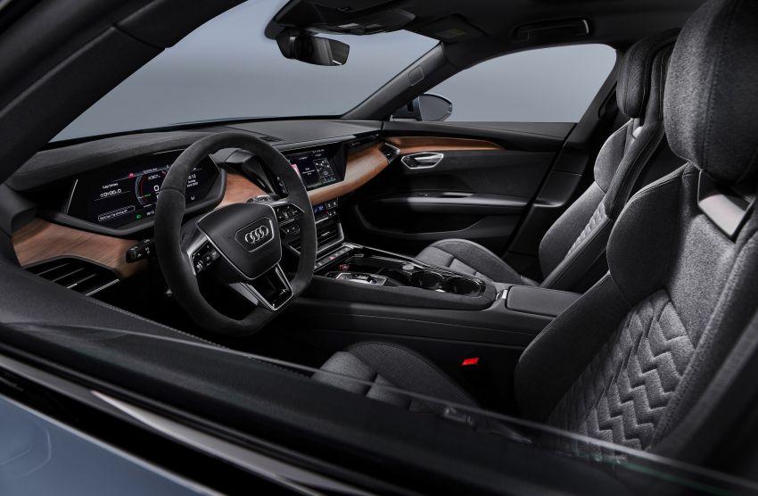 2021 Audi e-tron GT quattro, RS e-tron GT debut – two motors, up to 646 PS, 0-100 in 3.3 secs; 487 km range Image #1246427