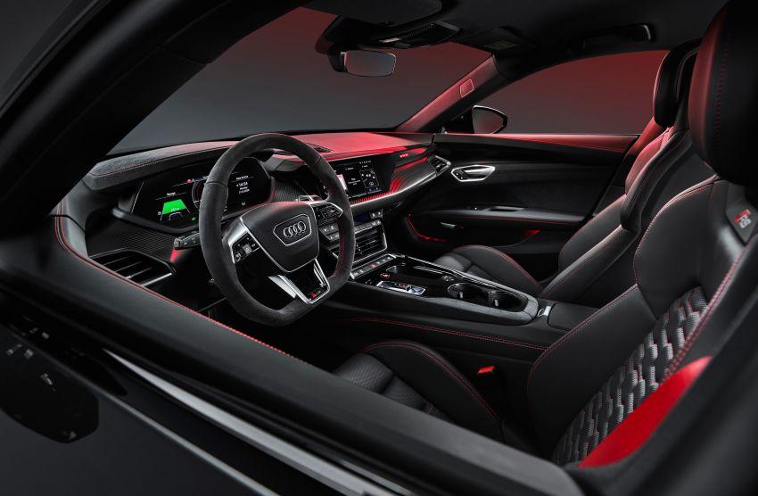 2021 Audi e-tron GT quattro, RS e-tron GT debut – two motors, up to 646 PS, 0-100 in 3.3 secs; 487 km range Image #1246396