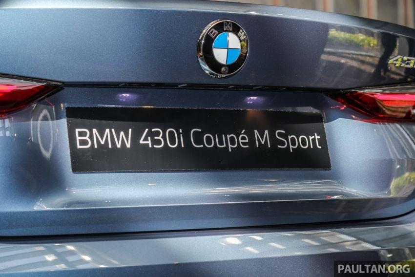 G22 BMW 430i Coupe M Sport in M'sia – from RM442k Image #1254788