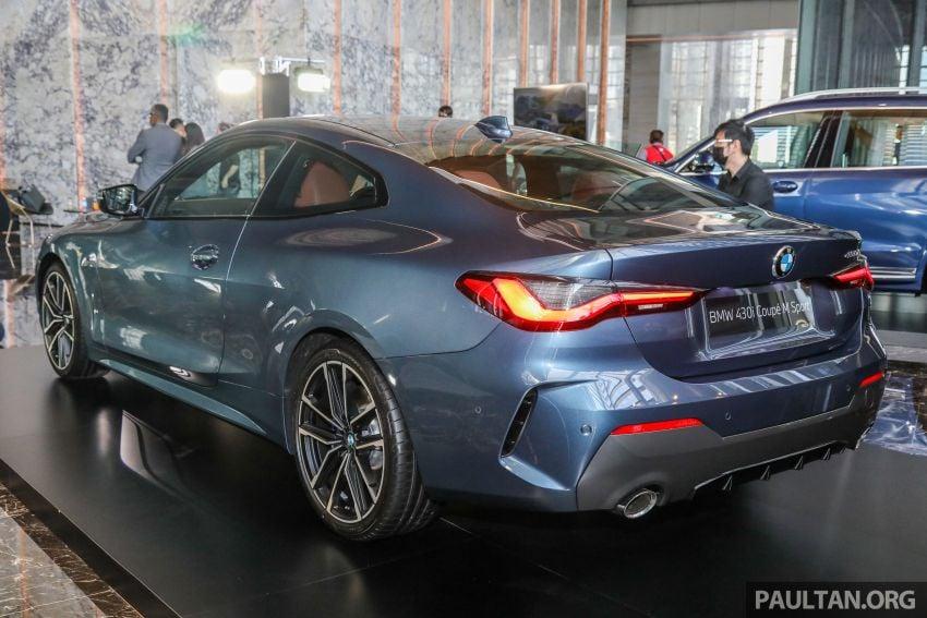 G22 BMW 430i Coupe M Sport in M'sia – from RM442k Image #1254770