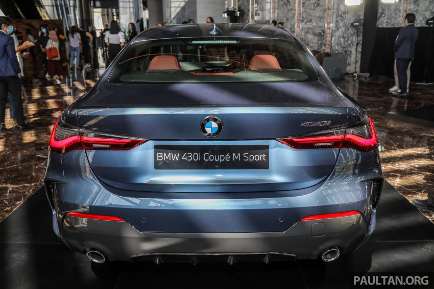 G22 BMW 430i Coupe M Sport in M'sia – from RM442k Image #1254773