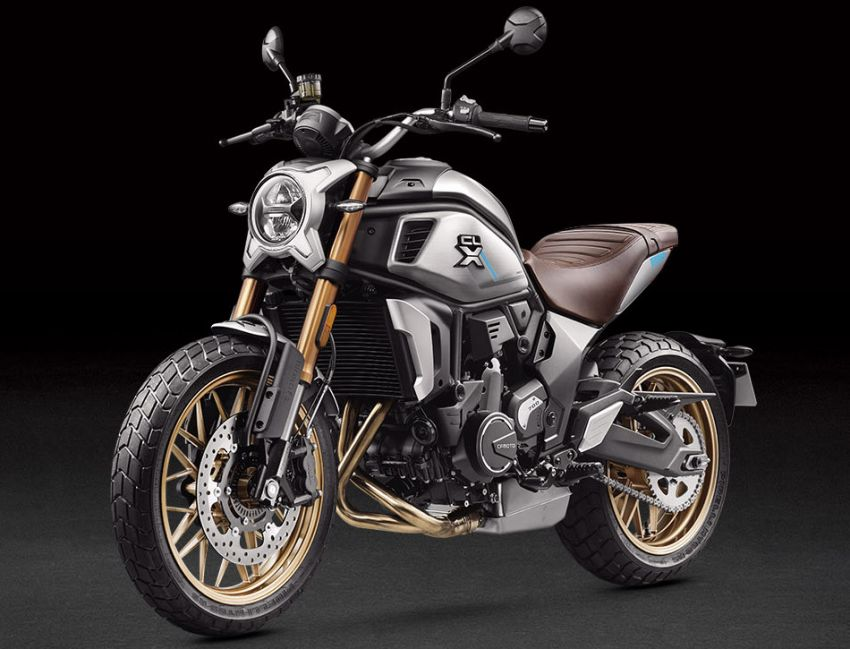 2021 CFMoto 700CL-X Heritage in Malaysia year end? Image #1253447
