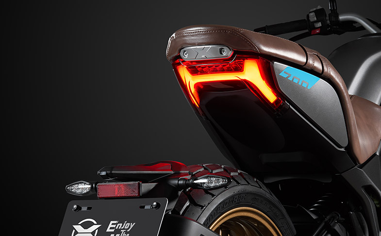 2021 CFMoto 700CL-X Heritage in Malaysia year end? Image #1253442