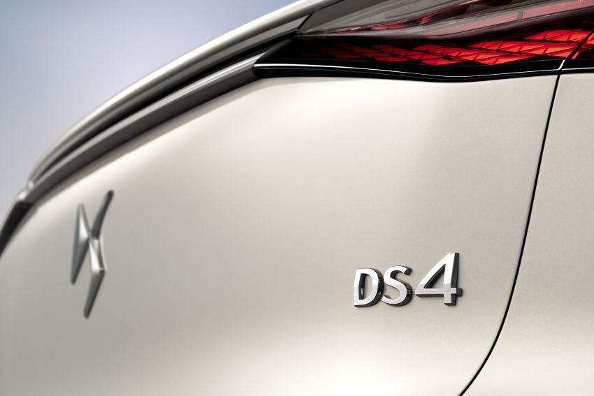 2021 DS4 revealed – second-gen premium hatch gets stylish makeover, plush interior and PHEV option Image #1243752