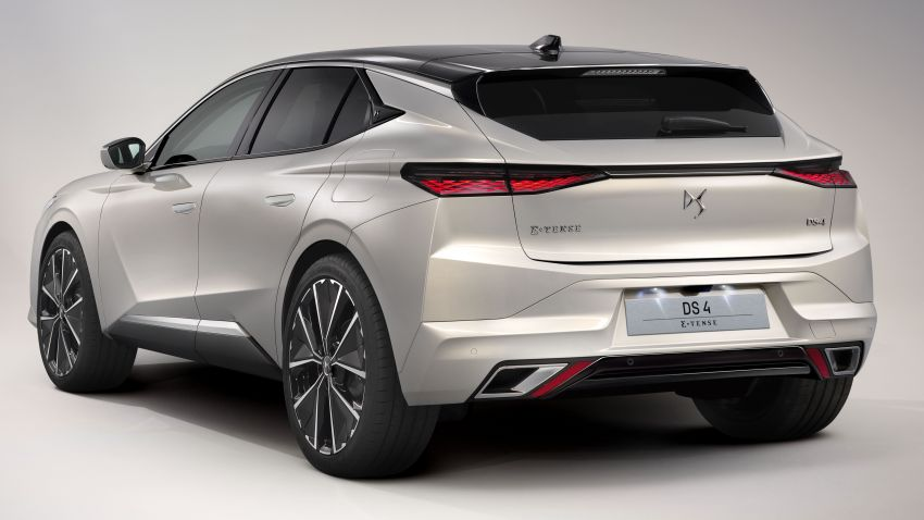 2021 DS4 revealed – second-gen premium hatch gets stylish makeover, plush interior and PHEV option Image #1243746