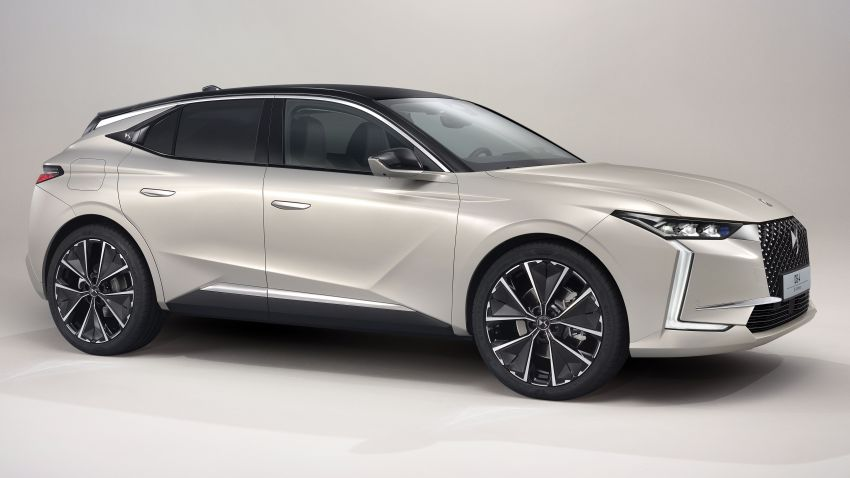 2021 DS4 revealed – second-gen premium hatch gets stylish makeover, plush interior and PHEV option Image #1243748