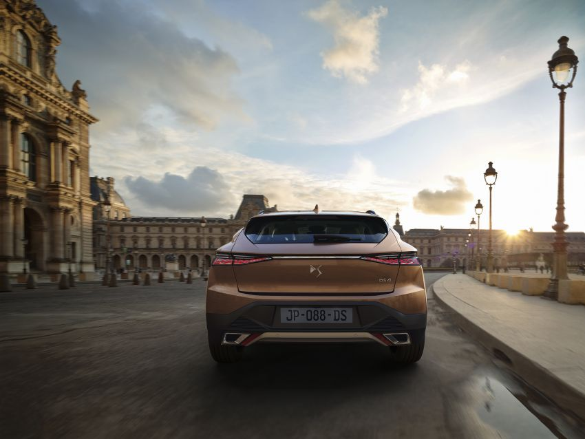 2021 DS4 revealed – second-gen premium hatch gets stylish makeover, plush interior and PHEV option Image #1243759
