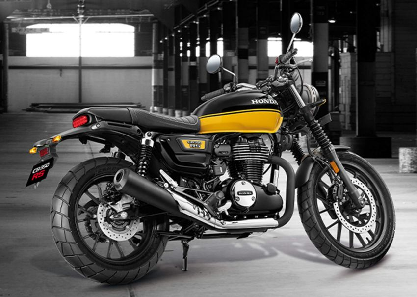 2021 Honda CB350 RS retro scrambler now in India Image #1249380