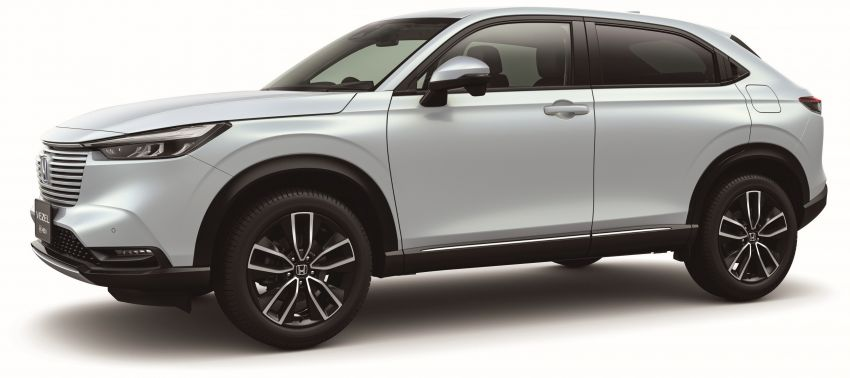 2022 Honda HR-V revealed – angular design, revised interior, new e:HEV hybrid model, improved Sensing Image #1250317