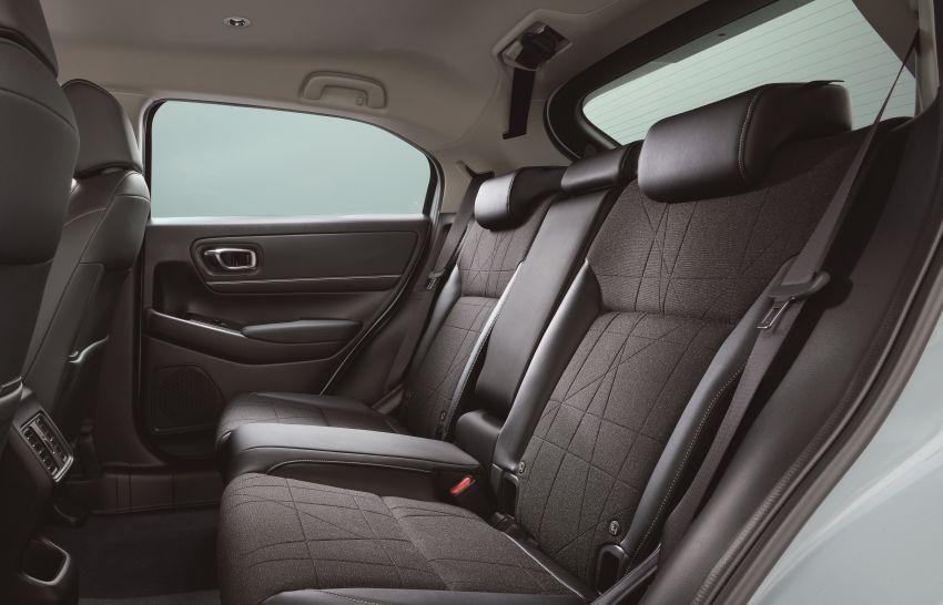2022 Honda HR-V revealed – angular design, revised interior, new e:HEV hybrid model, improved Sensing Image #1250332