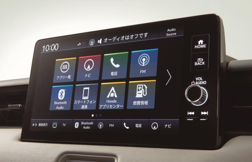 2022 Honda HR-V revealed – angular design, revised interior, new e:HEV hybrid model, improved Sensing Image #1250341