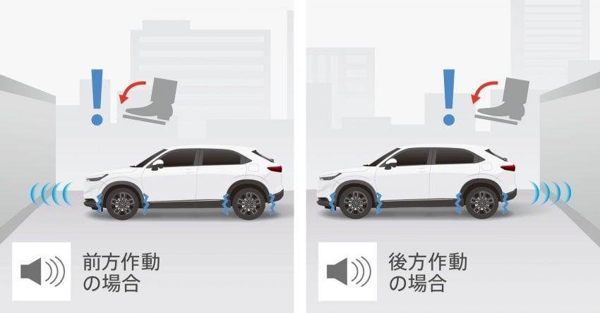 2022 Honda HR-V revealed – angular design, revised interior, new e:HEV hybrid model, improved Sensing Image #1250344
