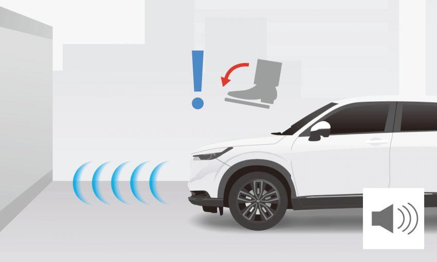 2022 Honda HR-V revealed – angular design, revised interior, new e:HEV hybrid model, improved Sensing Image #1250348