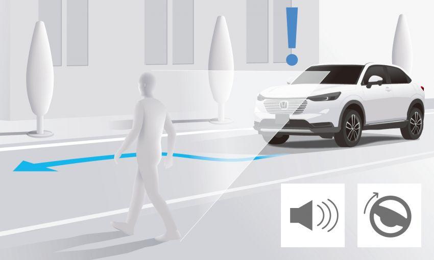 2022 Honda HR-V revealed – angular design, revised interior, new e:HEV hybrid model, improved Sensing Image #1250349