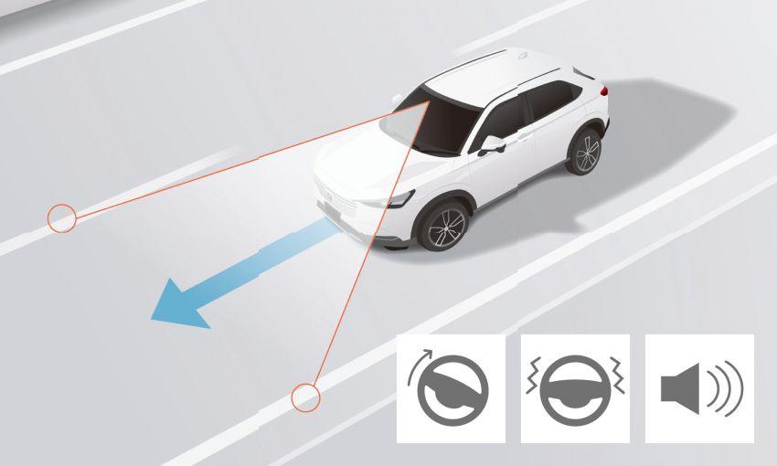 2022 Honda HR-V revealed – angular design, revised interior, new e:HEV hybrid model, improved Sensing Image #1250352