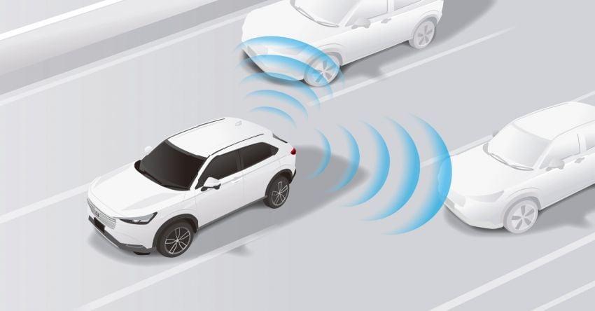 2022 Honda HR-V revealed – angular design, revised interior, new e:HEV hybrid model, improved Sensing Image #1250358