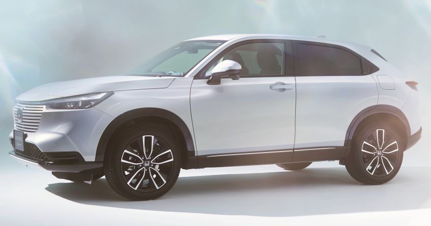2022 Honda HR-V revealed – angular design, revised interior, new e:HEV hybrid model, improved Sensing Image #1250319