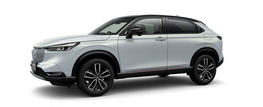 2022 Honda HR-V revealed – angular design, revised interior, new e:HEV hybrid model, improved Sensing Image #1250592