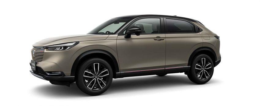 2022 Honda HR-V revealed – angular design, revised interior, new e:HEV hybrid model, improved Sensing Image #1250596