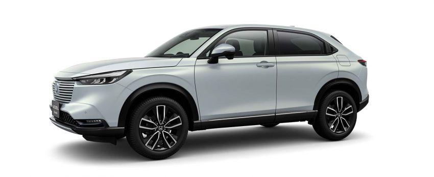 2022 Honda HR-V revealed – angular design, revised interior, new e:HEV hybrid model, improved Sensing Image #1250597