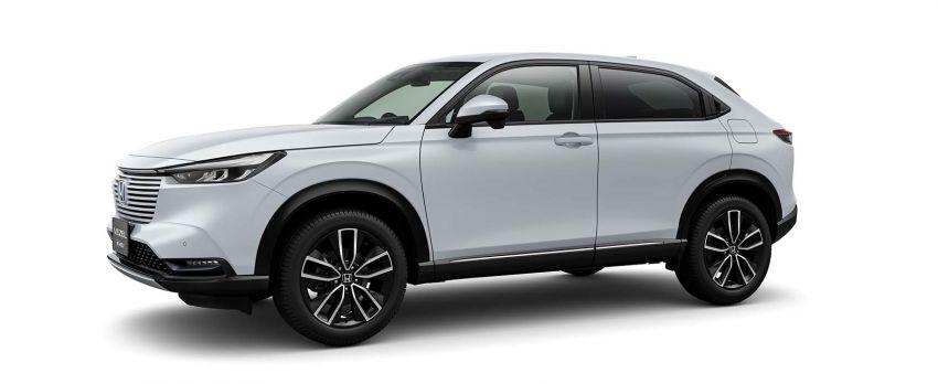2022 Honda HR-V revealed – angular design, revised interior, new e:HEV hybrid model, improved Sensing Image #1250598