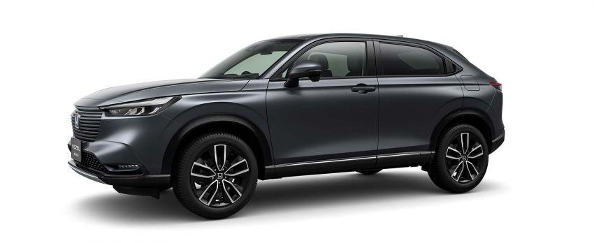 2022 Honda HR-V revealed – angular design, revised interior, new e:HEV hybrid model, improved Sensing Image #1250599