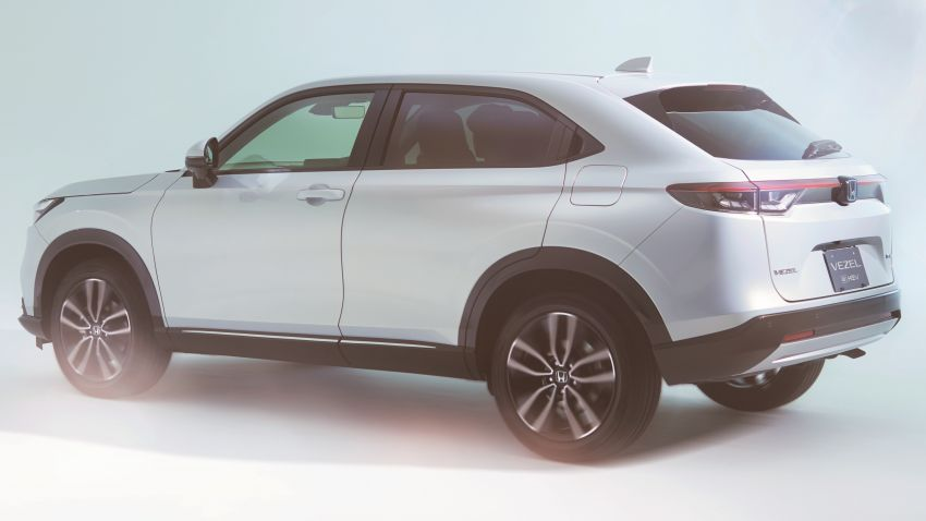 2022 Honda HR-V revealed – angular design, revised interior, new e:HEV hybrid model, improved Sensing Image #1250321