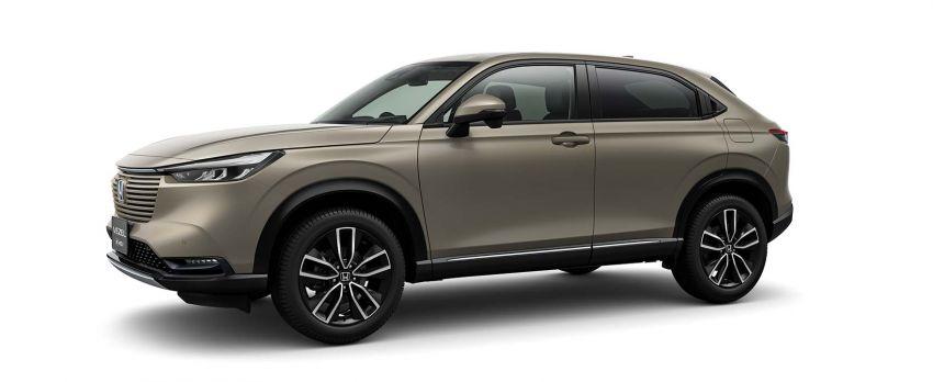 2022 Honda HR-V revealed – angular design, revised interior, new e:HEV hybrid model, improved Sensing Image #1250603