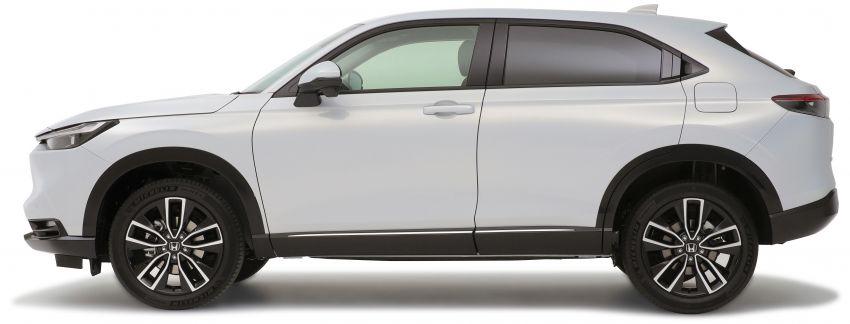 2022 Honda HR-V revealed – angular design, revised interior, new e:HEV hybrid model, improved Sensing Image #1250322