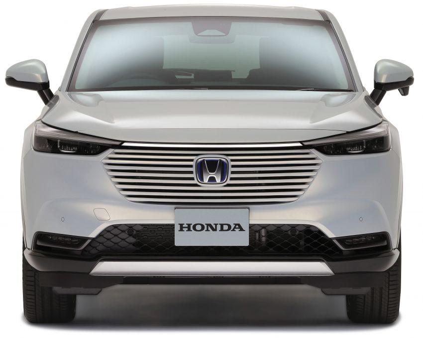 2022 Honda HR-V revealed – angular design, revised interior, new e:HEV hybrid model, improved Sensing Image #1250324