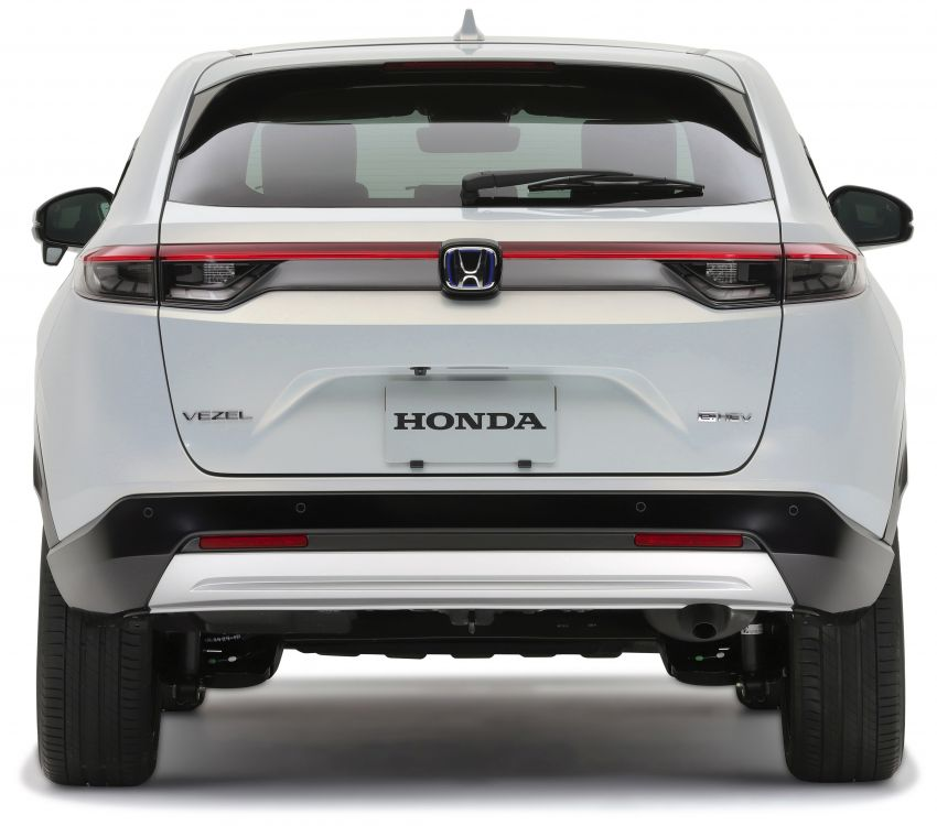 2022 Honda HR-V revealed – angular design, revised interior, new e:HEV hybrid model, improved Sensing Image #1250326