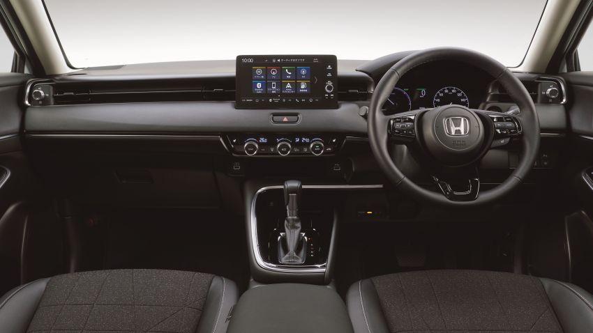 2022 Honda HR-V revealed – angular design, revised interior, new e:HEV hybrid model, improved Sensing Image #1250328