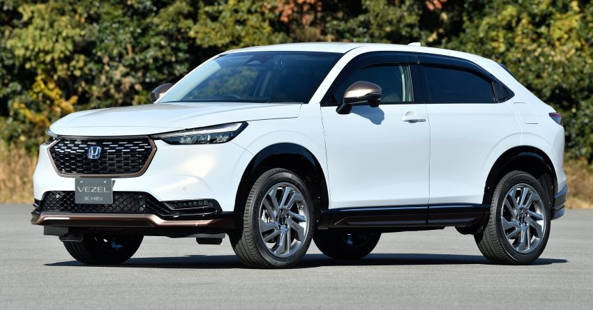 2022 Honda HR-V genuine accessories showcased – Urban Style and Casual Style packages available Image #1250735