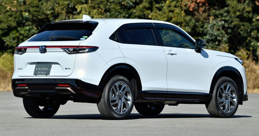 2022 Honda HR-V genuine accessories showcased – Urban Style and Casual Style packages available Image #1250736